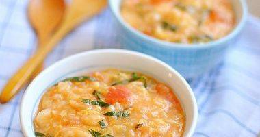 冬日快手暖身早餐 番茄疙瘩汤