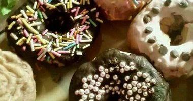 #松下烘焙魔法学院#无油炸紫薯甜圈圈