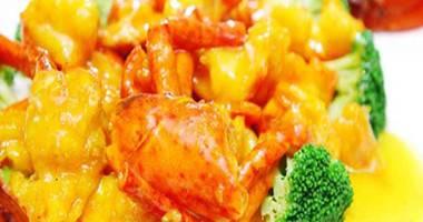 咸蛋黄芝士焗龙虾