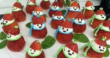 大仙美食课堂之草莓雪人