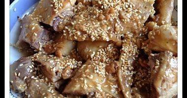 豆酱焗鸡 #万能的电饭煲#